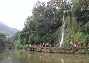 Northern Hot Springs Park:  Chongqing - Chongqing;  Travel in Chongqing, Chongqing