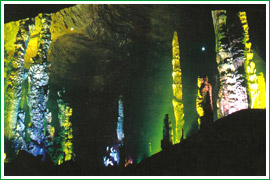 Nine-Dragon Cave Scenic Spot:  Guizhou - Tongren;  Travel in Tongren, Guizhou