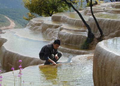 Baishui Tableland (White Water Terraces):  Yunnan - Shangri-La;  Travel in Shangri-La, Yunnan